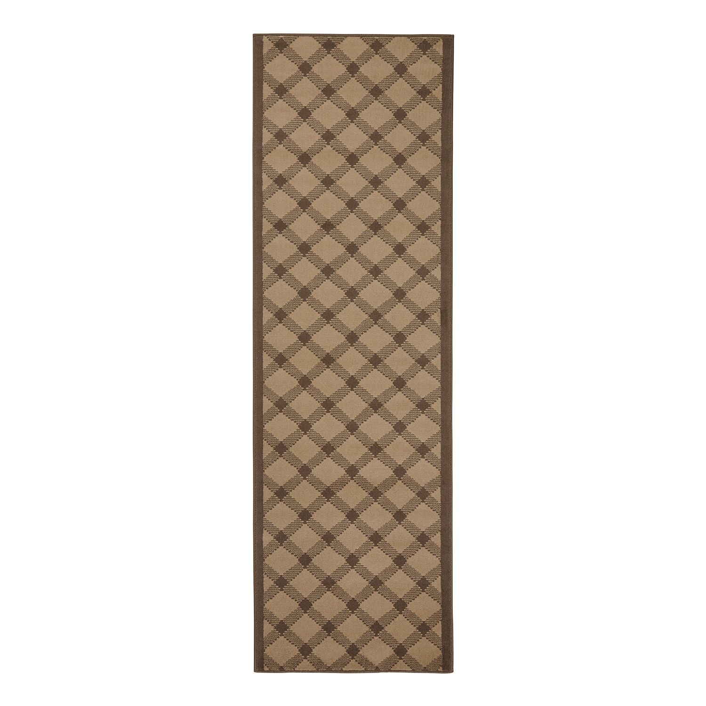 Loper Grand - kunstvezels - Bruin - 80x250cm, Hanse Home Collection