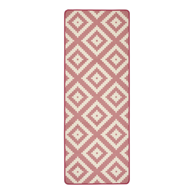 Loper Raute - kunstvezel - Pink, Hanse Home Collection