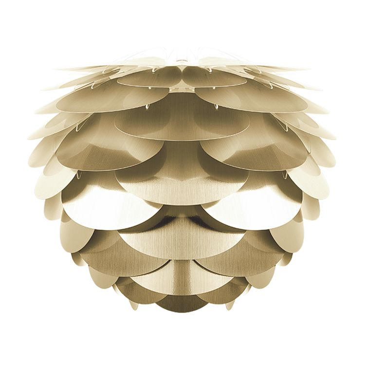 Lampenkap Pine Nut - kunststof - 34 - Messing, VITA Copenhagen