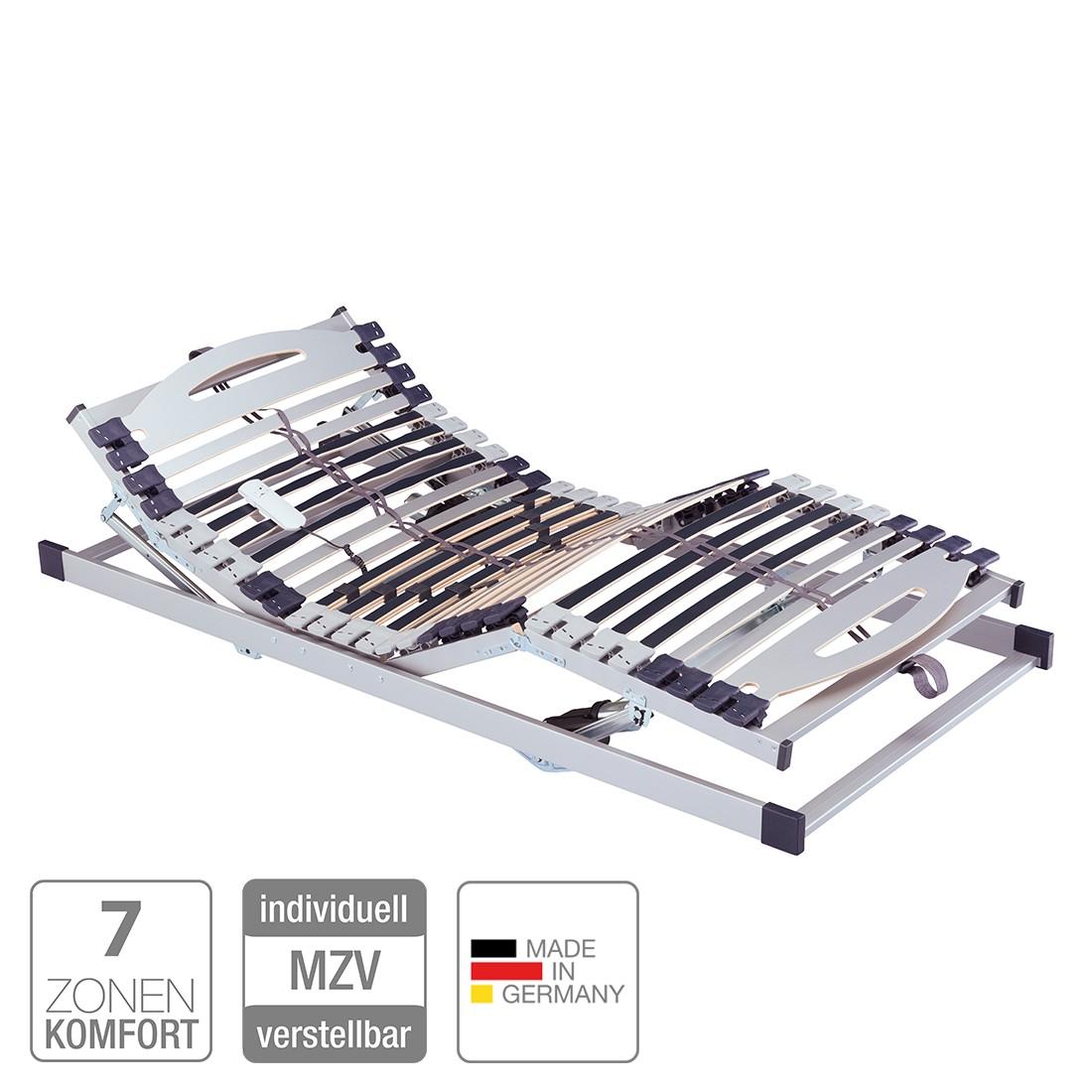 Lattenrost Fiona 7 Zonen (elektrisch) - verstellbar - Kabelfernbedienung - 80 x 200cm
