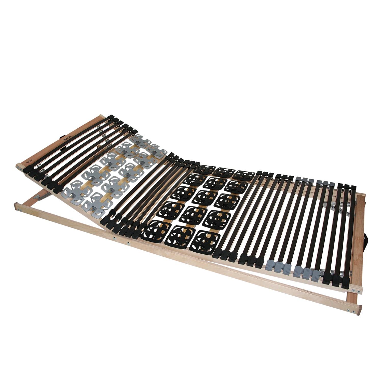 Lattenbodem Modulstar KF - beukenhout/zwart - 90 x 190cm, BeCo
