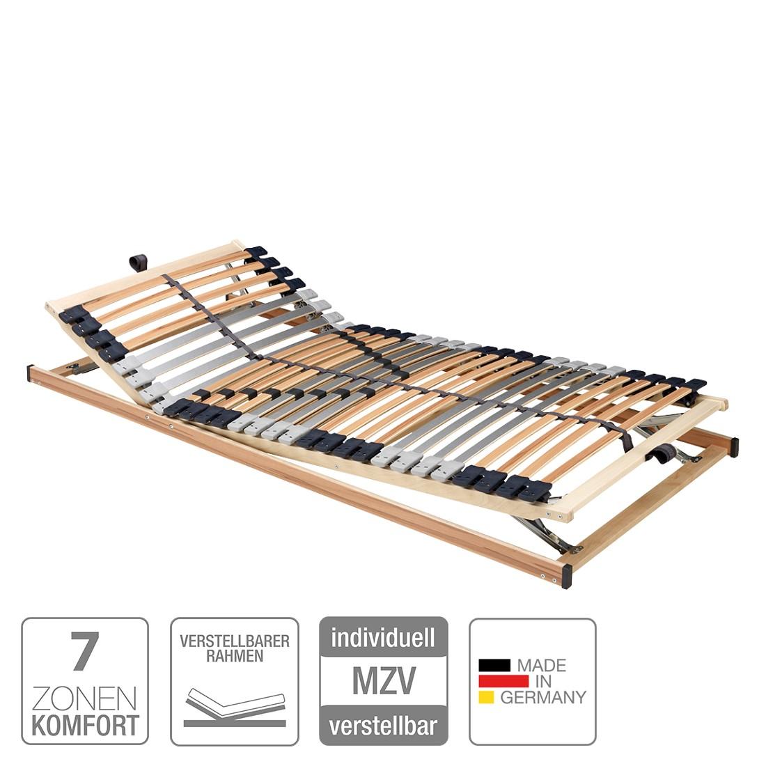 Lattenrost Prima (7 Zonen) - verstellbar - 90 x 200cm