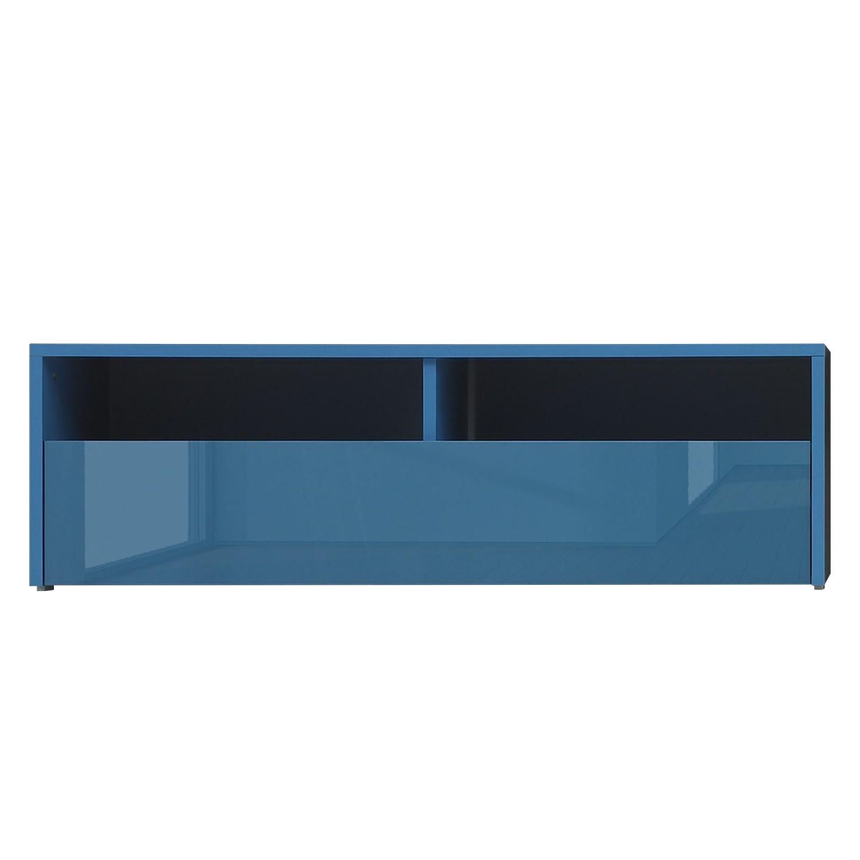 Meuble TV Box LC - Turquoise brillant, Lc Mobili