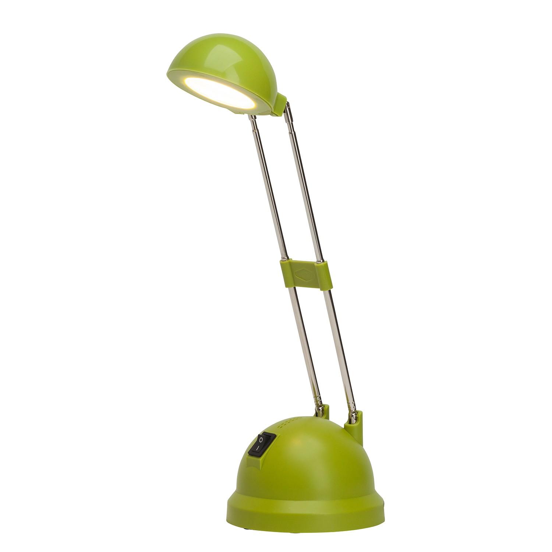 EEK A+, LED-Tischleuchte Katrina 1-flammig - Grün Metall, Brilliant