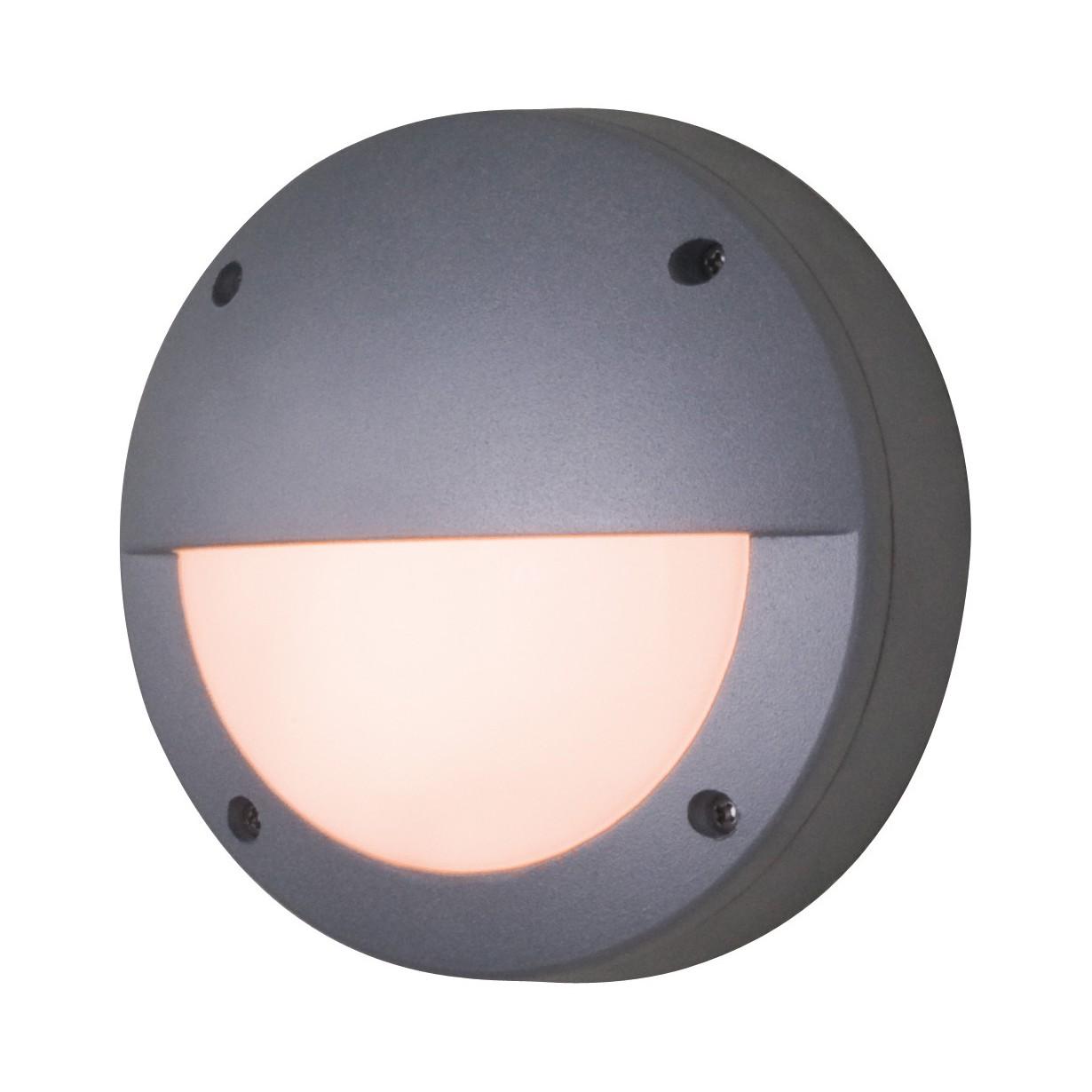 energie  A++, LED-buitenlamp - aluminium grijs 1 lichtbron, Näve