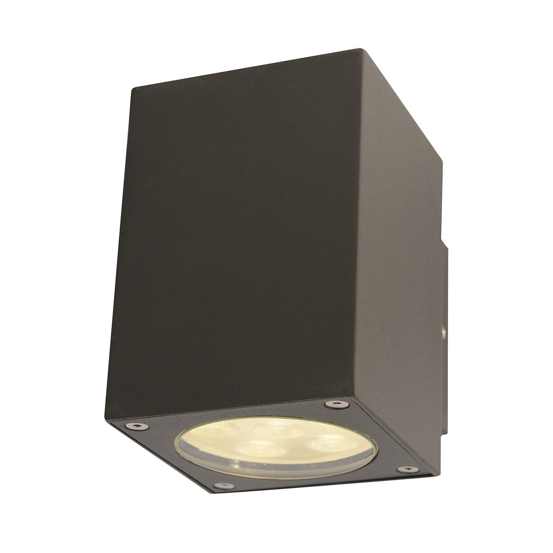 energie  A+, LED-buitenlamp Down - aluminium grijs 12 lichtbronnen, Näve