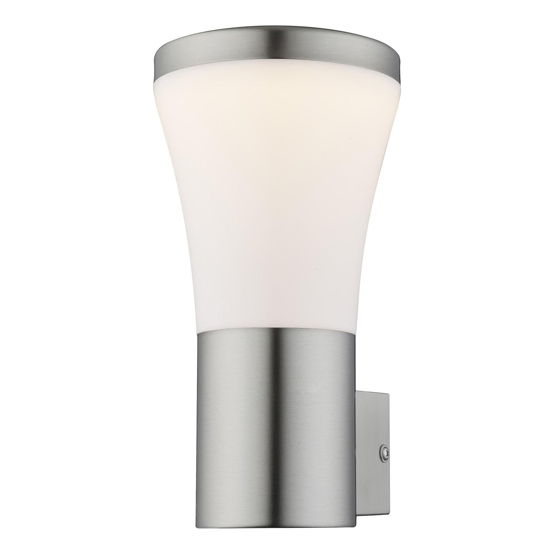 energie  A+, LED-buitenlamp Alido I - kunststof/roestvrij staal - 1 lichtbron, Globo Lighting