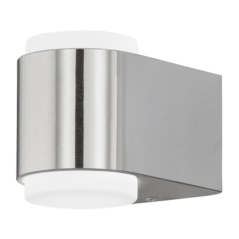 EEK A+, LED-Außenleuchte Briones - Kunststoff / Aluminium - 2-flammig - Aluminium, Eglo