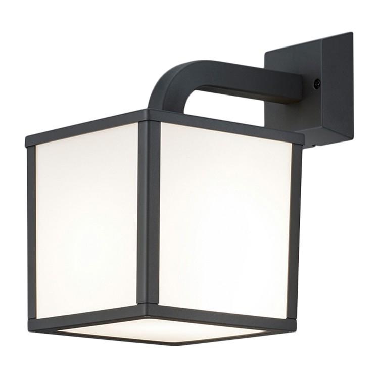 EEK A++, LED-Außenleuchte Cubango - Aluminium / Kunststoff - Anthrazit - 1-flammig, Trio