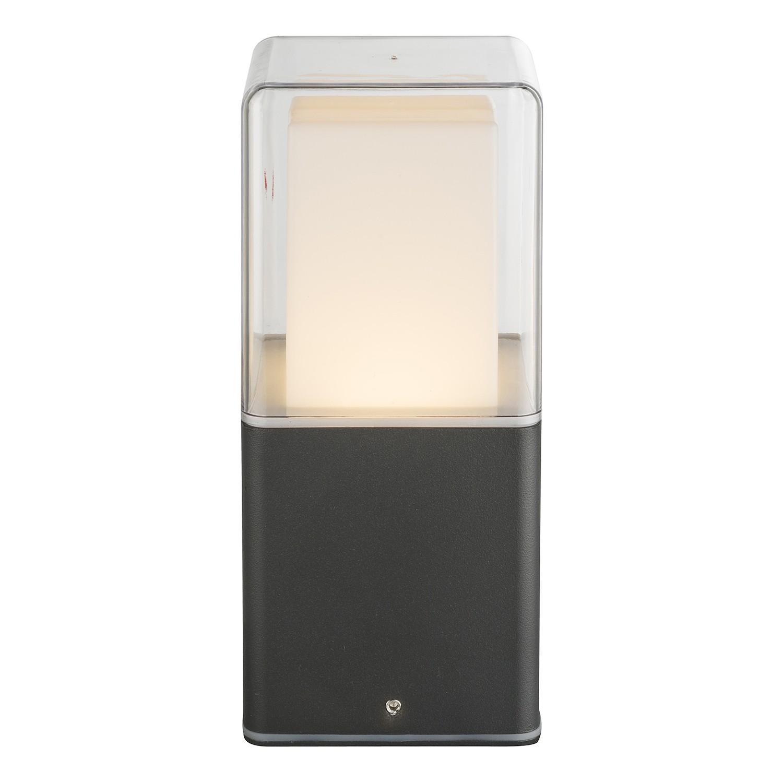 energie  A+, LED-buitenlamp Dalia I - glas/aluminium - 1 lichtbron, Globo Lighting