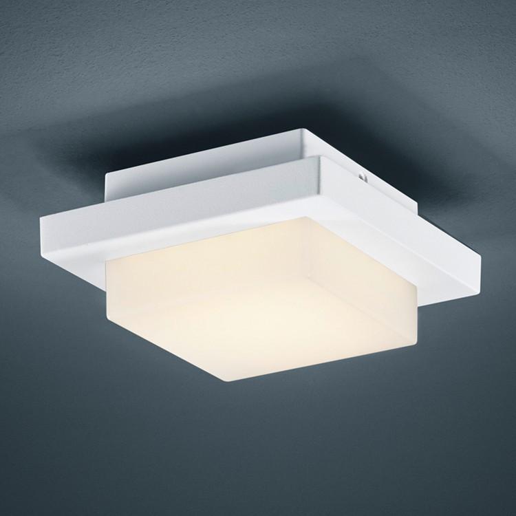 EEK A+, LED-Außenleuchte Hondo 1-flammig - Aluminium Kunststoff - Silber, Trio