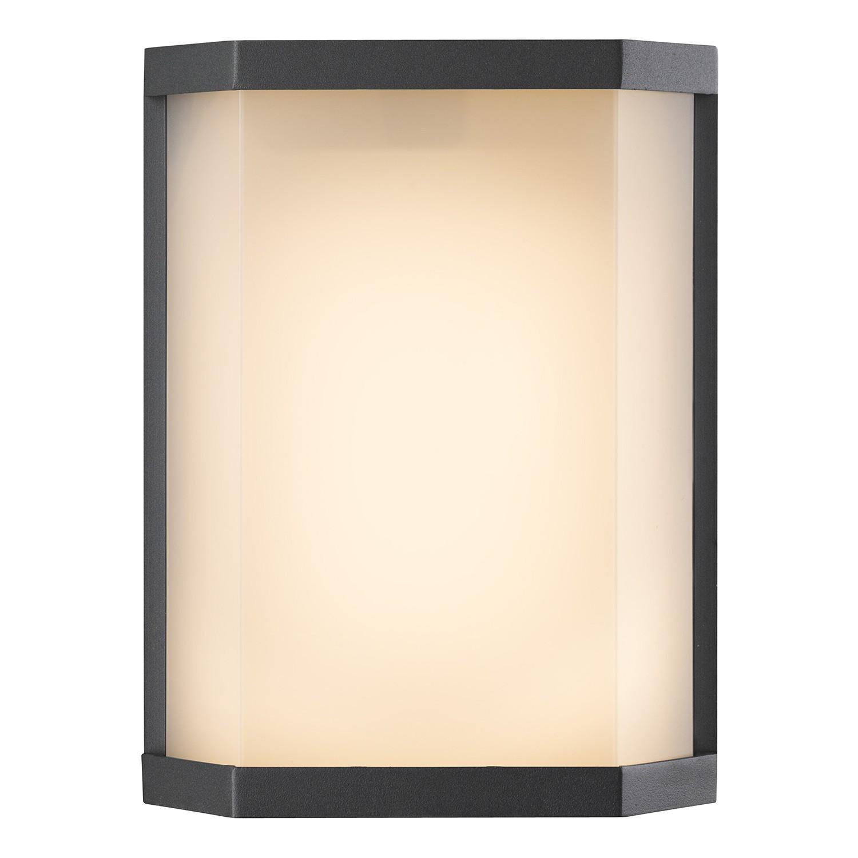 energie  A+, LED-buitenlamp Lissy II - kunststof/aluminium - 1 lichtbron, Globo Lighting