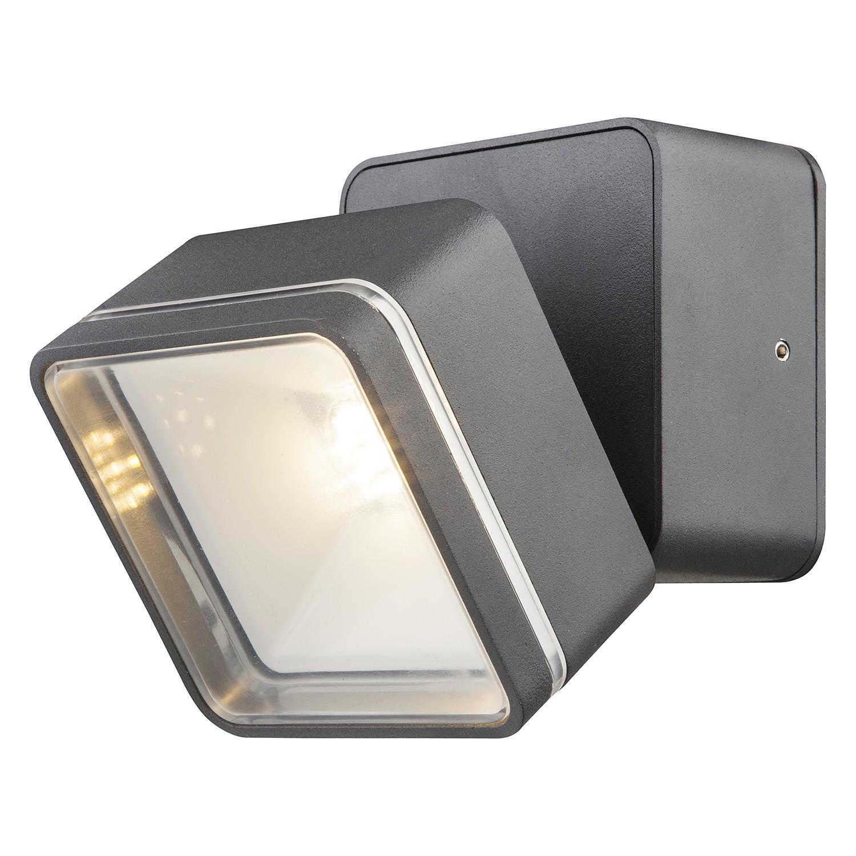 energie  A+, LED-buitenlamp Lissy III - kunststof/aluminium - 1 lichtbron, Globo Lighting