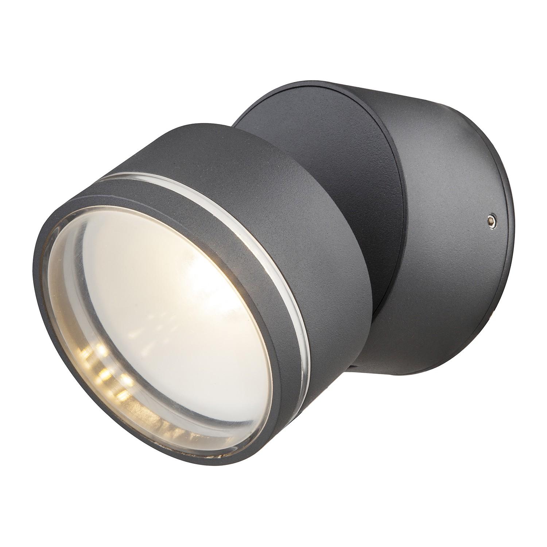 energie  A+, LED-buitenlamp Lissy IV - kunststof/aluminium - 1 lichtbron, Globo Lighting
