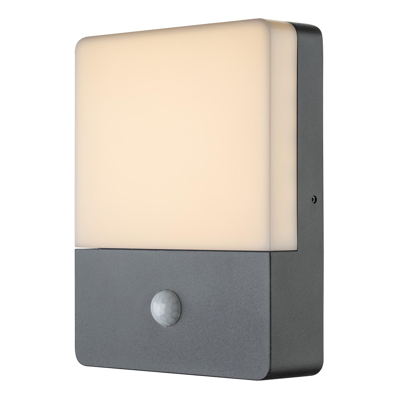 energie  A+, LED-buitenlamp Lissy VI - opaalglas/aluminium - 1 lichtbron, Globo Lighting
