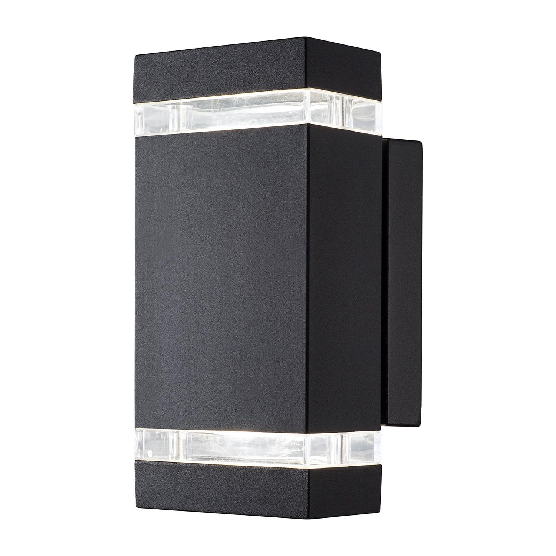 energie  A+, LED-buitenlamp Piute II - kunststof/staal - 2 lichtbronnen, Nordlux