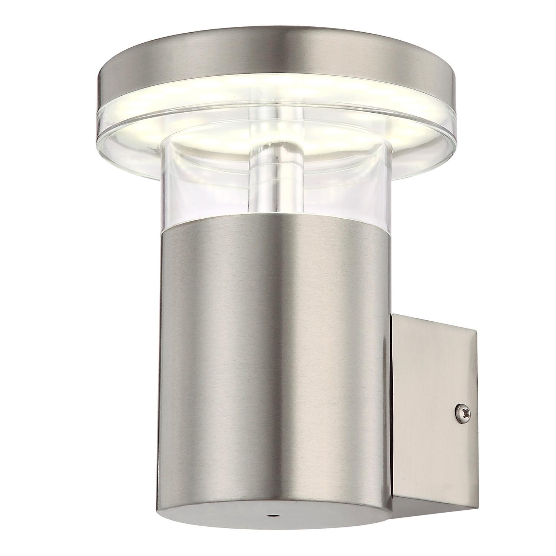 energie  A+, LED-buitenlamp Sergio I - kunststof/roestvrij staal - 1 lichtbron, Globo Lighting