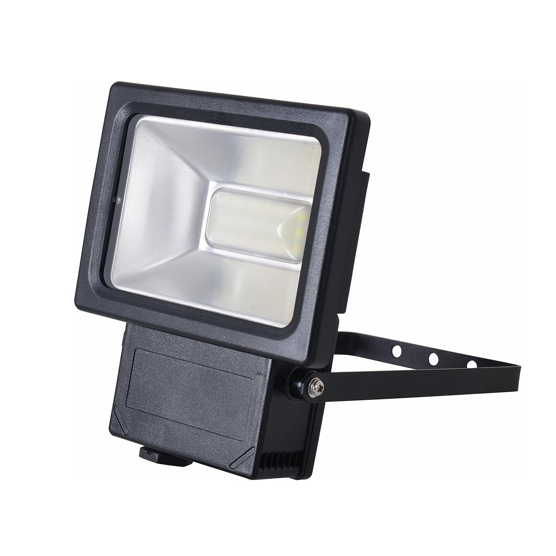 energie  A+, LED-buitenlamp Spot III - aluminium grijs 36 lichtbronnen, Näve