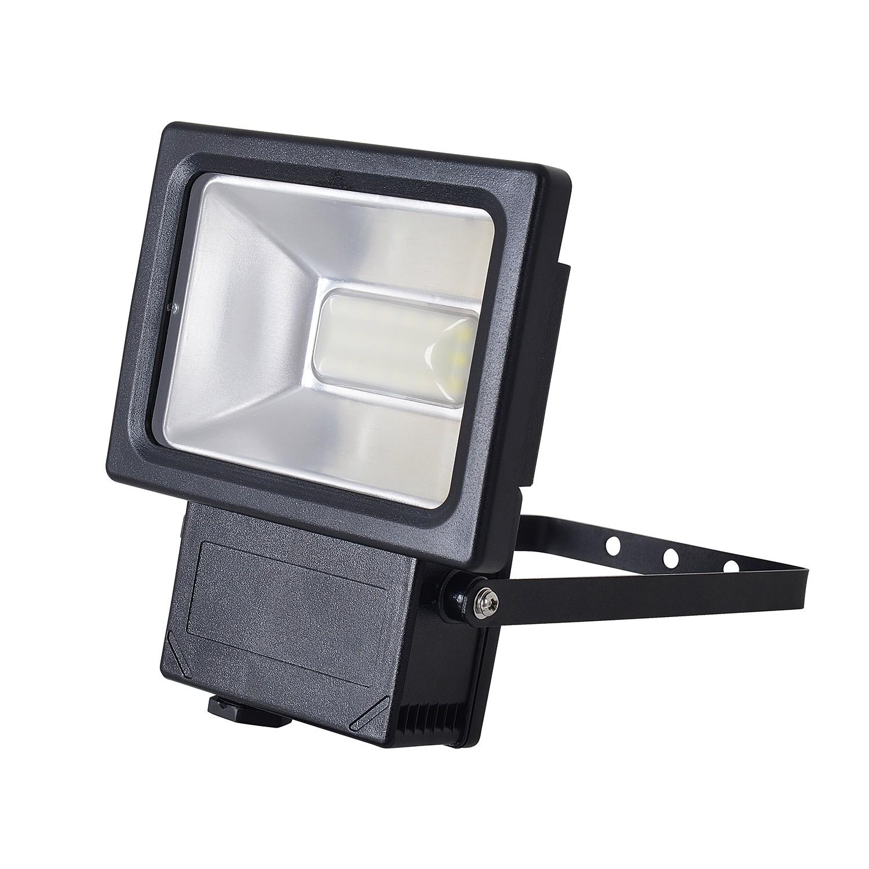 energie  A+, LED-buitenlamp Spot IV - aluminium grijs 54 lichtbronnen, Näve