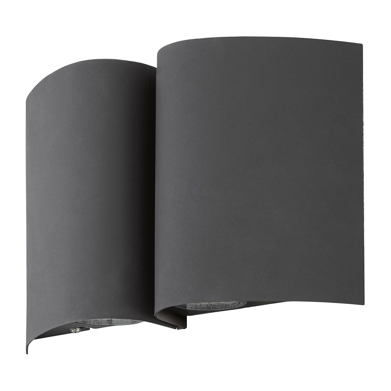 EEK A+, LED-Außenleuchte Suesa - Stahl - 4-flammig - Anthrazit, Eglo