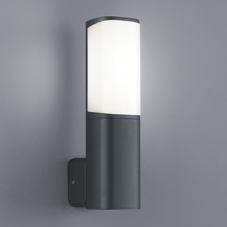 Home 24 - Eek a+, luminaire d extérieur led ticino - 1 ampoule aluminium / matériau synthétique argenté, trio