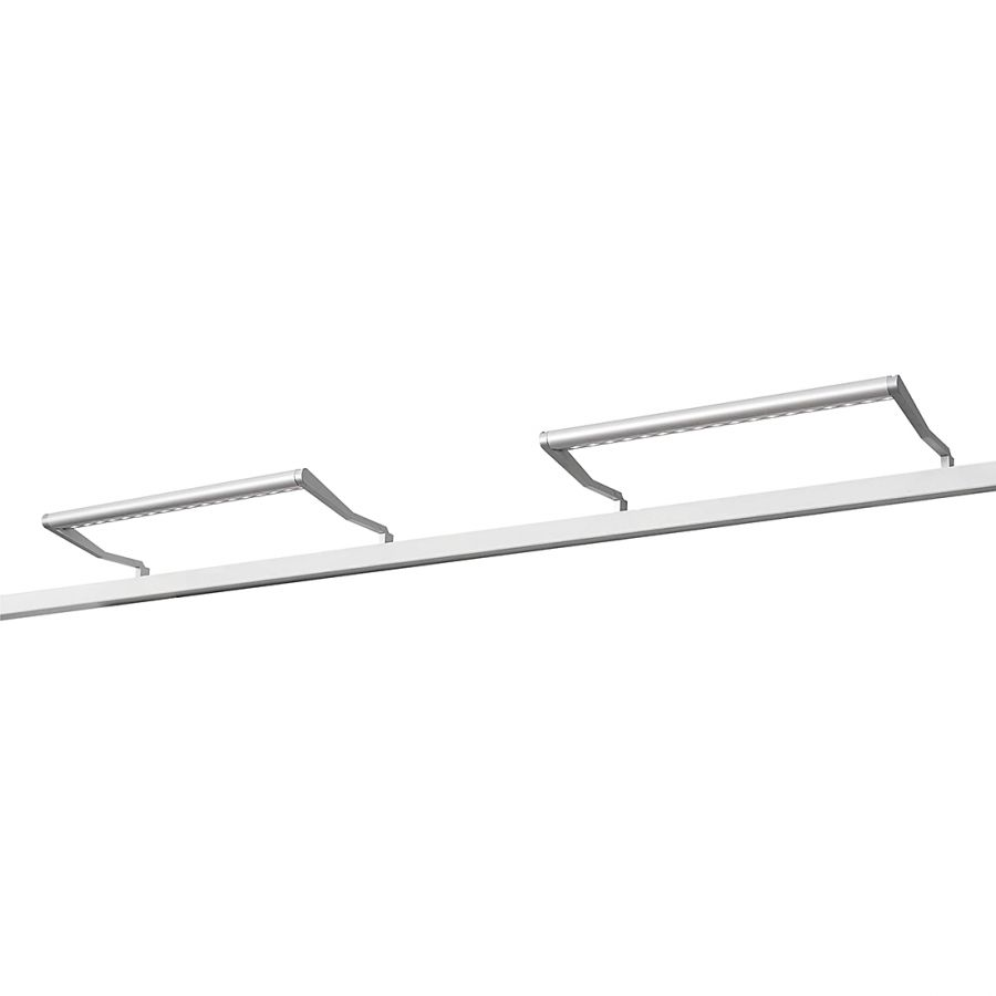 LED Beleuchtung Skøp II - Aluminium - 2er-Set