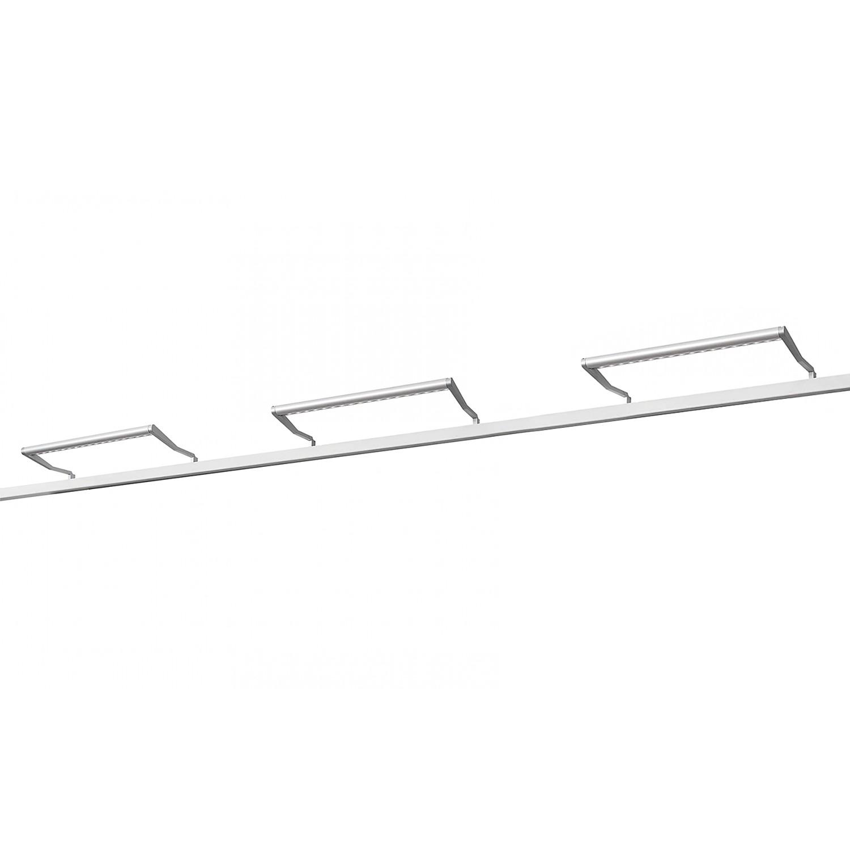 LED Beleuchtung Skøp II - Aluminium - 3er-Set