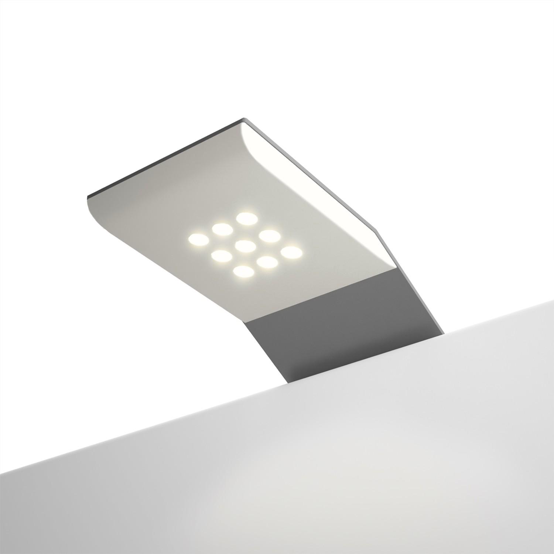 LED Beleuchtung Skøp III - Aluminium - 2er-Set