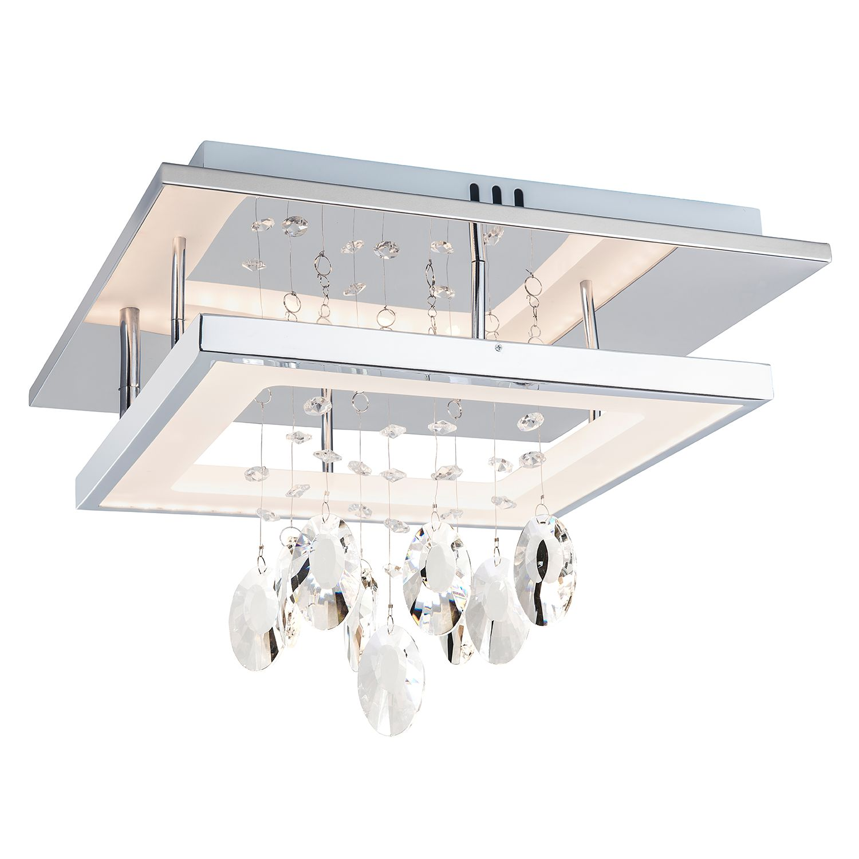 energie  A+, LED-Plafondlamp Alva II - Glas / Metaal - 2-lichtbronnen, Nino Leuchten