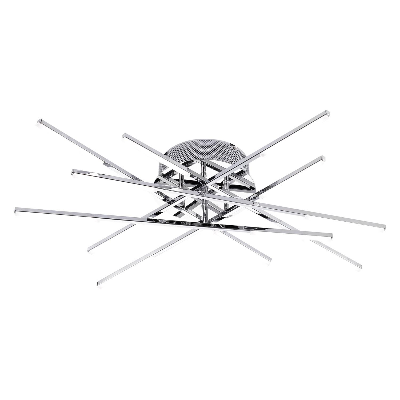 EEK A+, LED-Pendelleuchte Forte II - Glas / Metall - 12, Wofi