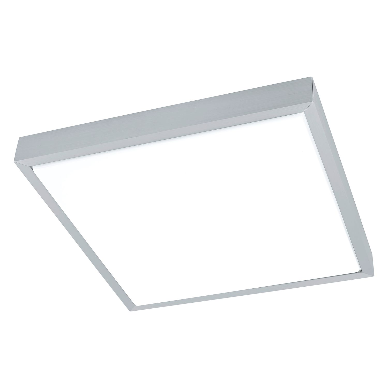 energie  A+, LED-plafondlamp Idun - kunststof/aluminium - 4 lichtbronnen, Eglo