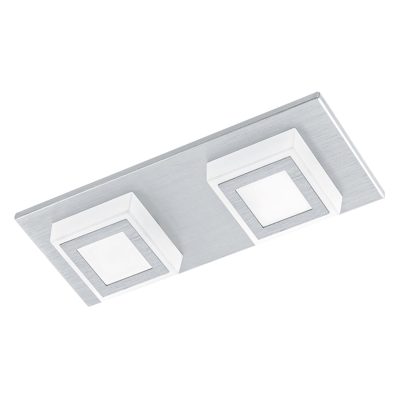 EEK A+, LED-Deckenleuchte Masiano I - Aluminium / Kunststoff - 2, Eglo