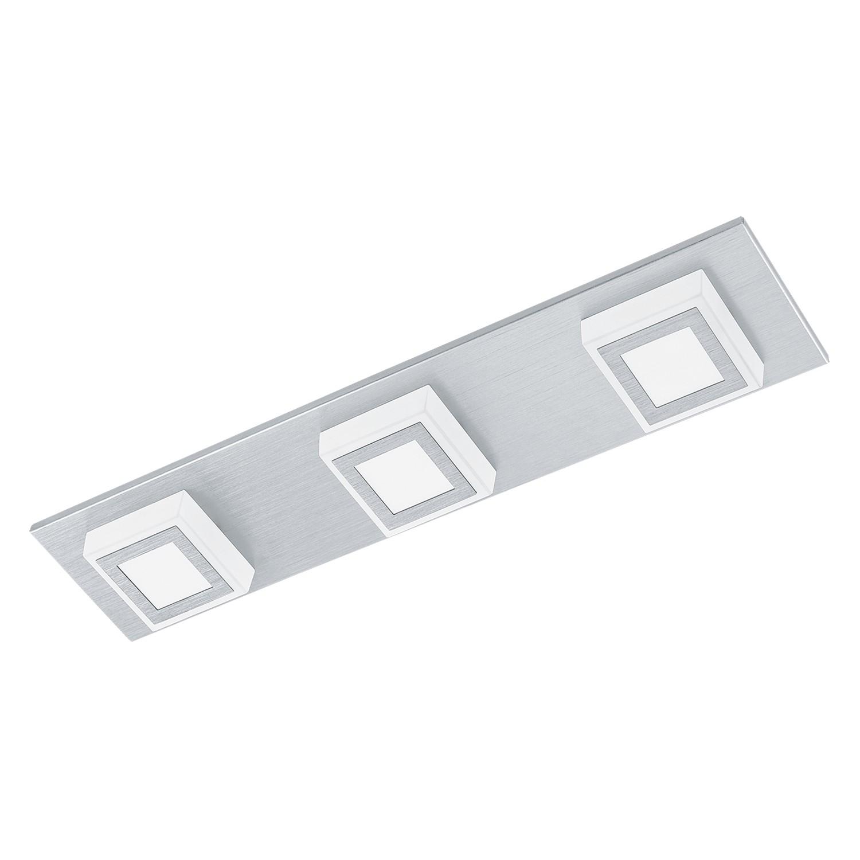 EEK A+, LED-Deckenleuchte Masiano I - Aluminium / Kunststoff - 3, Eglo