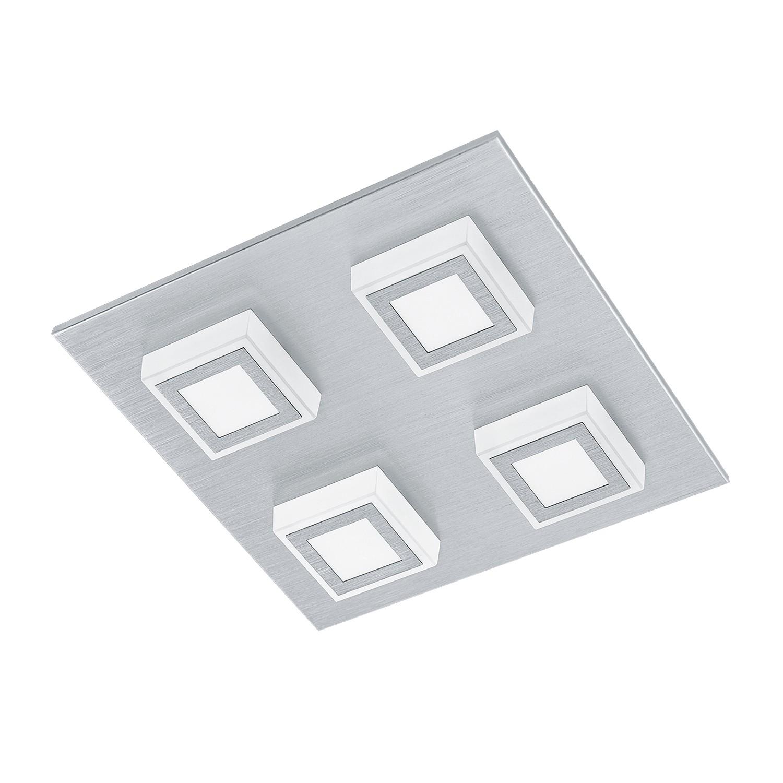 EEK A+, LED-Deckenleuchte Masiano II - Aluminium / Kunststoff - 4, Eglo