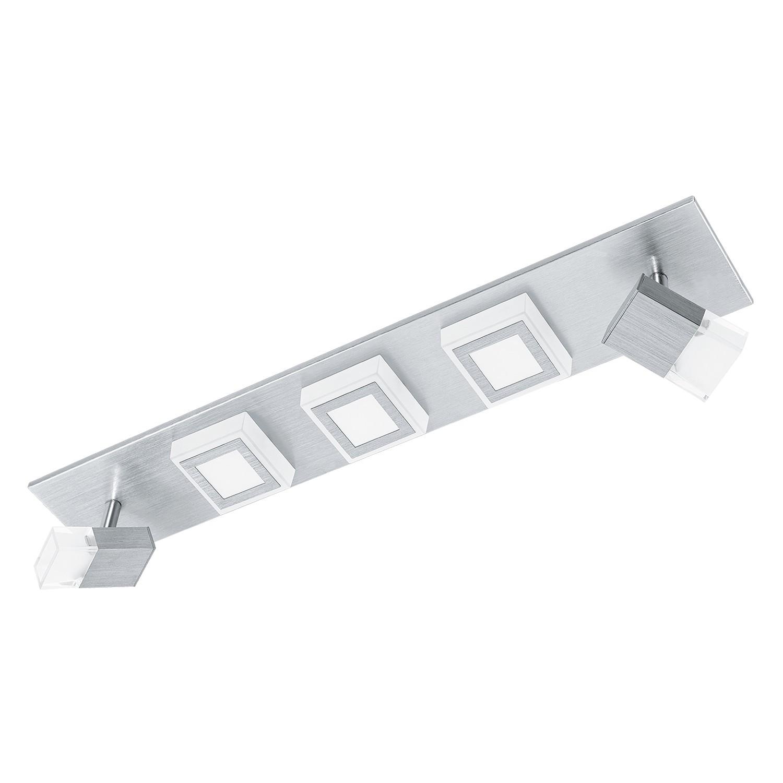 EEK A+, LED-Deckenleuchte Masiano III - Aluminium / Kunststoff - 5-flammig, Eglo