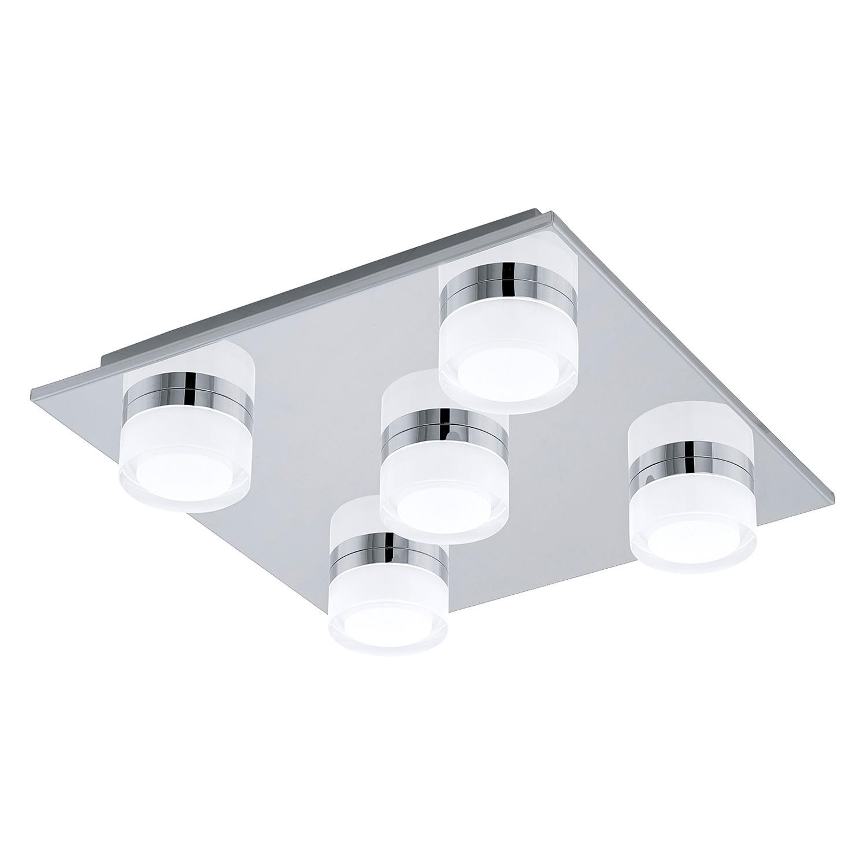 EEK A+, LED-Deckenleuchte Romendo - Kunststoff / Stahl - 5-flammig, Eglo