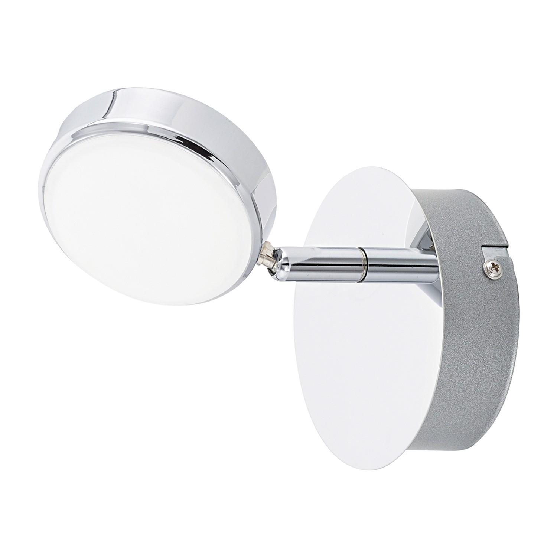 EEK A+, LED-Wandleuchte Salto - Kunststoff / Stahl - 1-flammig, Eglo