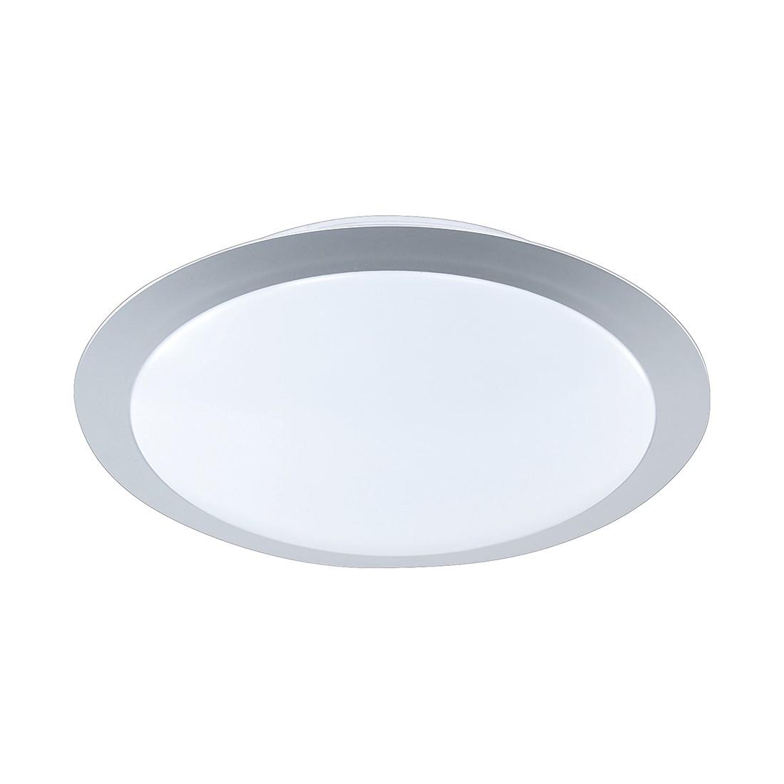 energie  A+, LED-plafondlamp - titaankleurig 1x9W, Trio