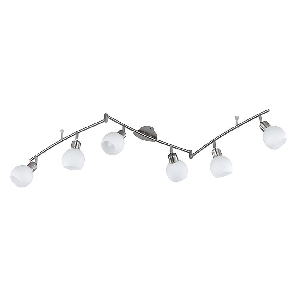 EEK A++, Luminaire LED - Nickel 6 x 4 watts, Trio