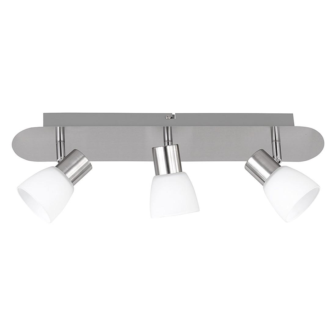 LED-plafondlamp - nikkelkleurig 3x4,5W, Trio