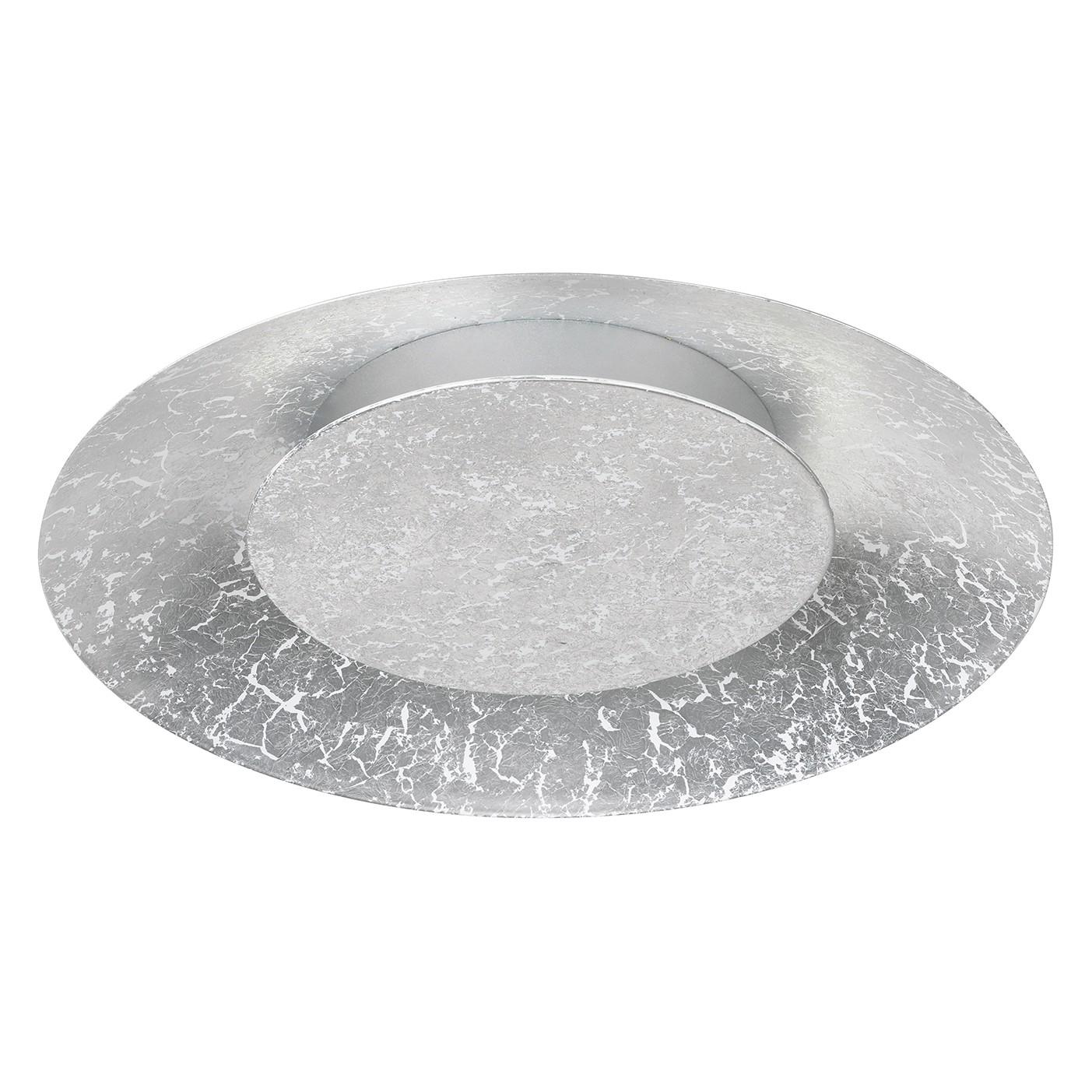 energie  A+, LED-plafondlamp Shine-Marvel - metaal - 1 lichtbron - 34.5 - Zilverkleurig, Shine by Fischer Leuchten