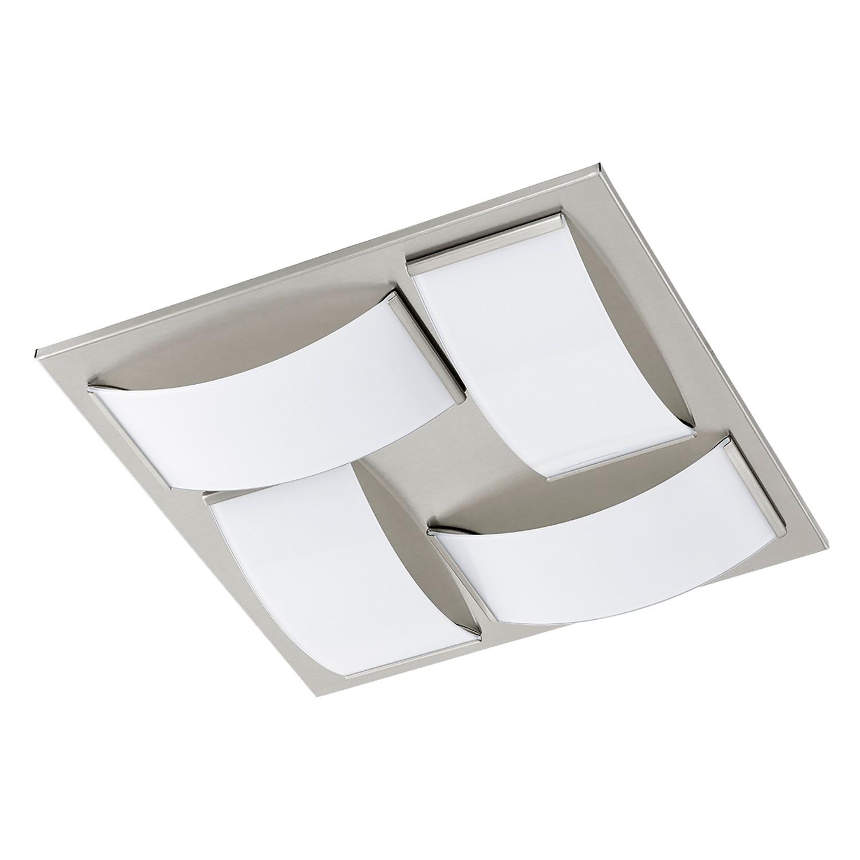 EEK A+, LED-Deckenleuchte Wasao - Glas / Stahl - 4-flammig, Eglo