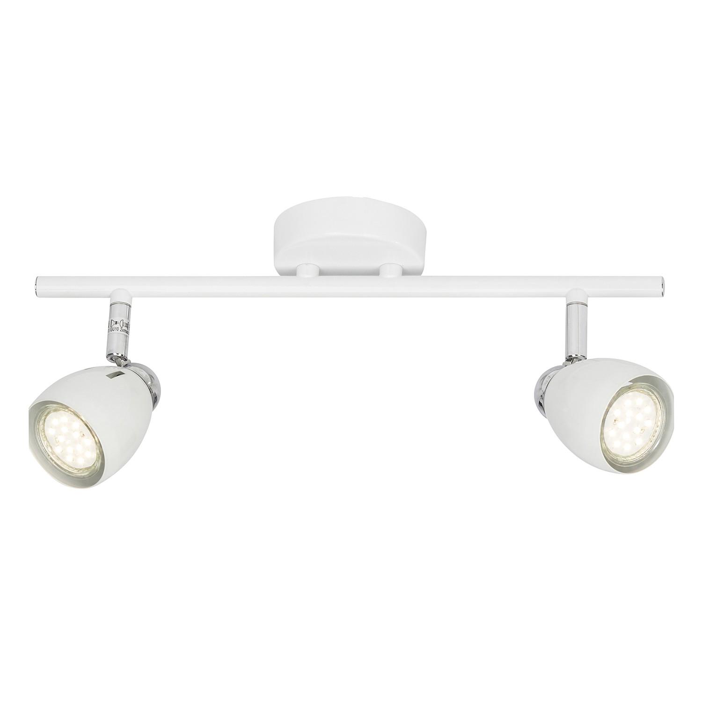 energie  A++, LED-plafondlamp Milano I - metaal - 2 - Wit, Brilliant