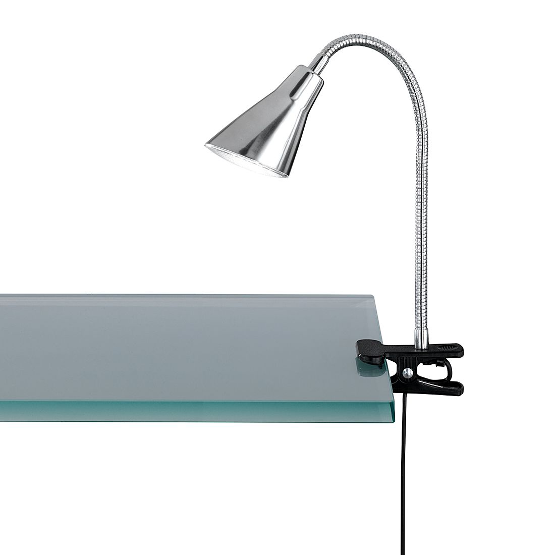 LED-klemlap - nikkelkleurig 1x4,2W, Trio