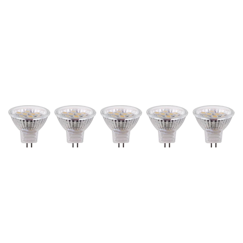 energie  A+, LED-lampen Cullion (5-delige set) - kunststof/ijzer, Globo Lighting