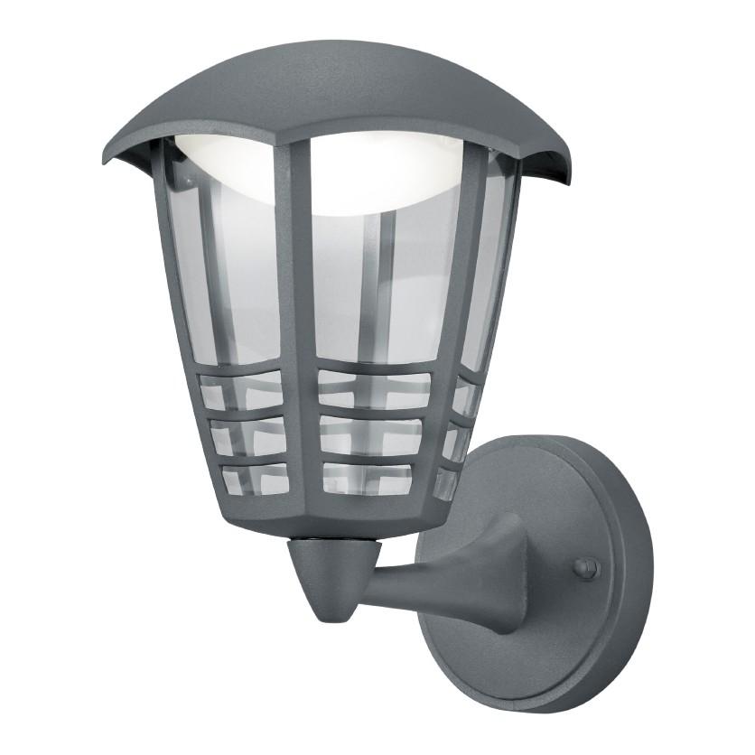 energie  A+, LED-wandlamp Alma Shine I - kunststof/aluminium - 1 lichtbron, Trio