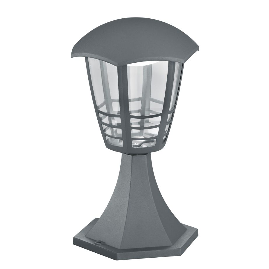 energie  A+, LED-padverlichting Alma Shine II - kunststof/aluminium - 1 lichtbron, Trio