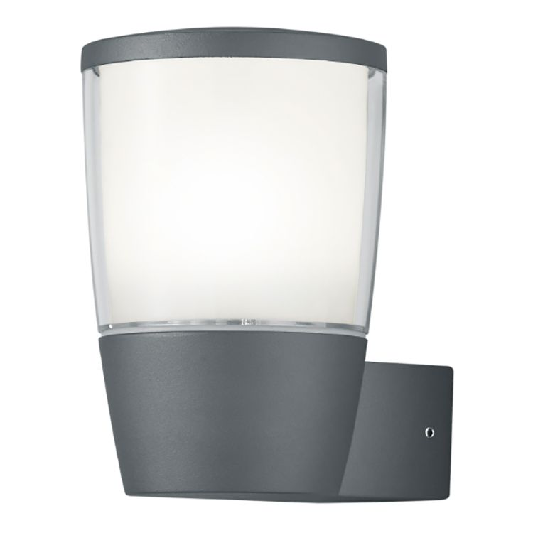 energie  A+, LED-wandlamp Rye I - aluminium/kunststof - 1 lichtbron, Trio