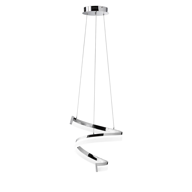 EEK A+, LED-Pendelleuchte Fare I - Glas / Metall - 1-flammig, Wofi