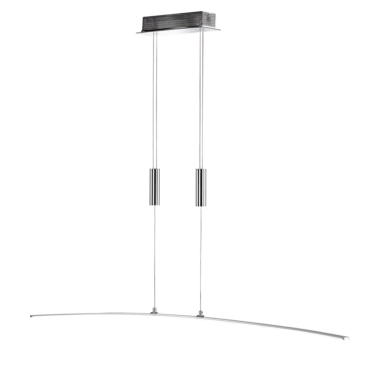 EEK A+, LED-Pendelleuchte Freya - Metall / Acrylglas, Wofi